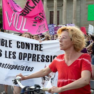 Забастовка феминисток 14.06.2021