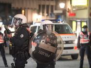 Стычки с полицией в Санкт-Галлене. Резиновые пули и коктейль Молотова