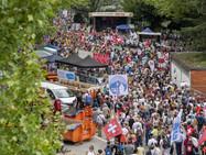 В Люцерне прошла демонстрация «несогласных»