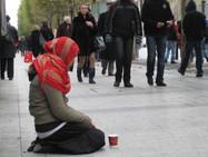 Попрошаек на улицах Женевы стало больше