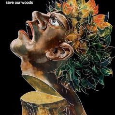 """Плакат """"Спасите лес"""", 1983"""