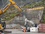 Началось строительство второго Сен-Готардского автомобильного тоннеля