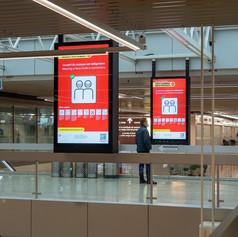 Аэропорт Женевы. Январь 2021 год