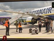 В Швейцарии заявили, что угрозу о минировании рейса Ryanair отправили после его разворота