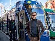 У Роджера Федерера теперь есть свой собственный трамвай