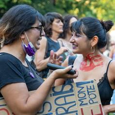Забастовка феминисток. Женева, 14.06.21