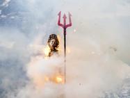 Цюрихского снеговика Бёёгга сожгли в кантоне Ури