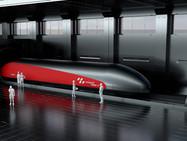 В Швейцарии планируют запустить вакуумный поезд. Заявленная скорость – 1'200 км/ч