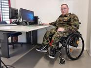 Ноах Архаб, первый солдат в инвалидной коляске в армии Швейцарии