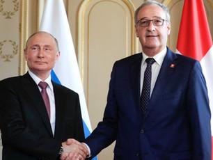 Президент Швейцарии о своём впечатлении о Путине