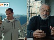 Ролик с участием Федерера и Де Ниро набрал более 50 млн просмотров на YouTube