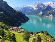 Глобальное потепление угрожает швейцарским озерам