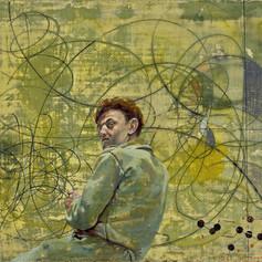 Молекулярный автопортрет. Ганс Эрни, 1946