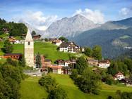 Восемь самых красивых деревень Швейцарии