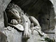 Памятнику «Умирающий лев» в Люцерне 200 лет