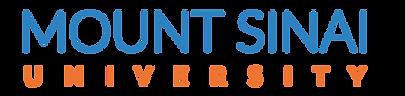 Mt. Sinai University Logo Name Only.png