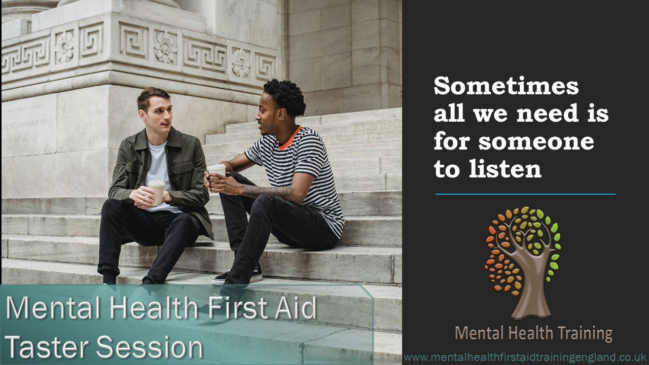 Online Mental Health First Aid - Taster
