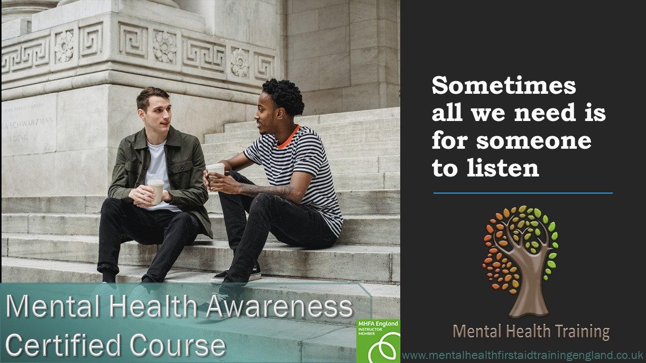Certified Online Mental Health Awareness