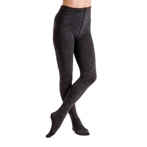 f067c464d Couture 200 denier Melange Fleece tights in Grey