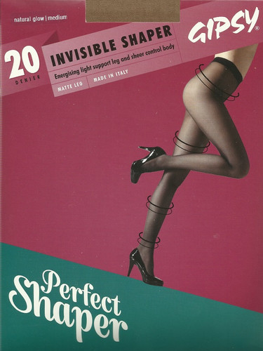 b04c2d31a8577 Gipsy 20 Denier Invisible Shaper Tights