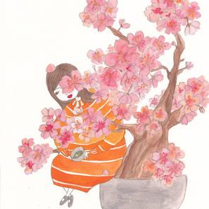 Sakura and me