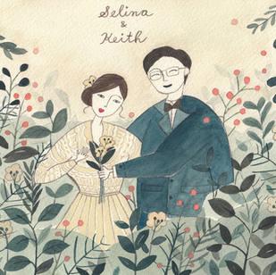 the Wedding of Selina & Keith