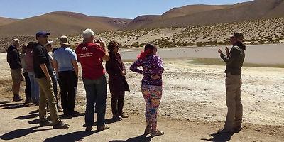 Guide flamingo travel agency, San PEdro de atacama