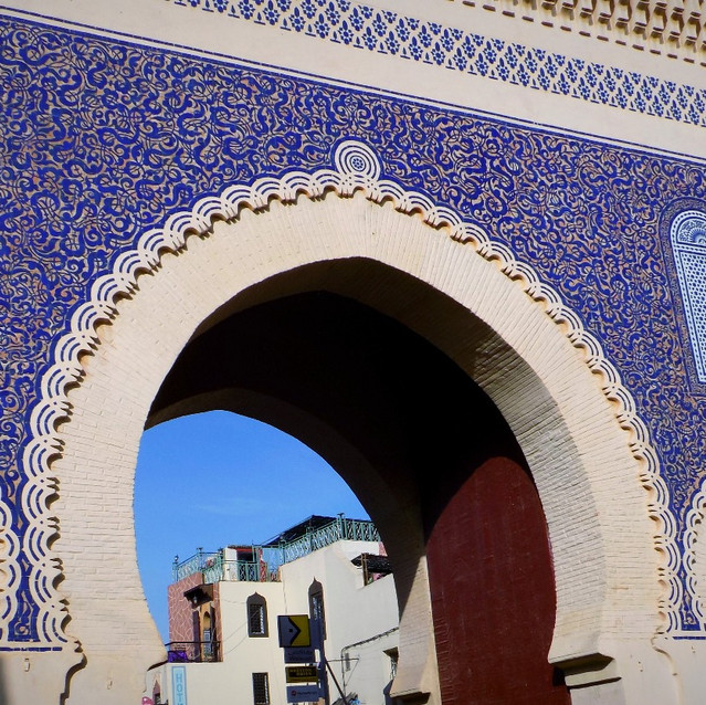 Bab Bou Jeloud (The Blue Gate)
