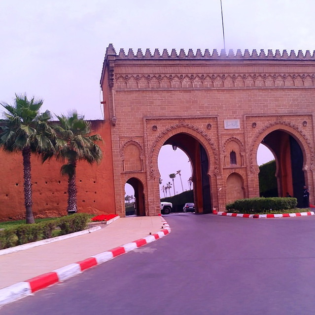 Archway in Fes