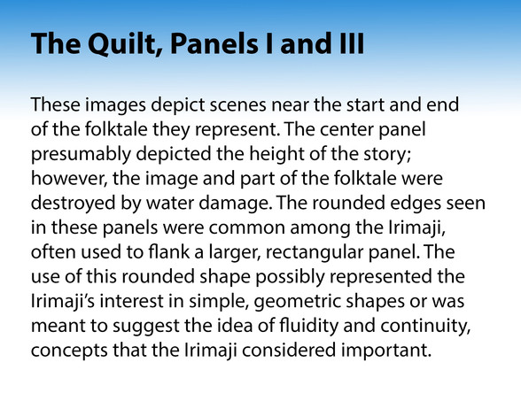 The Quilt, Panels I and III