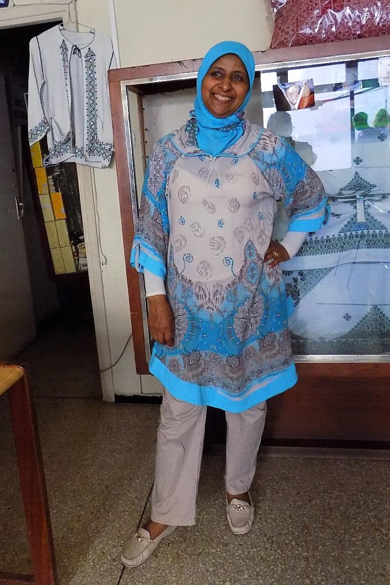 Seamstress in Sefrou