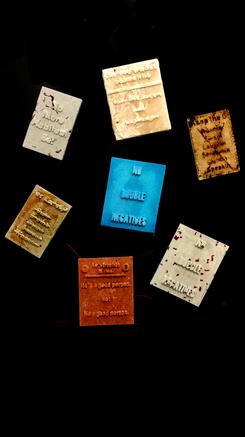 Black English Correction Magnets