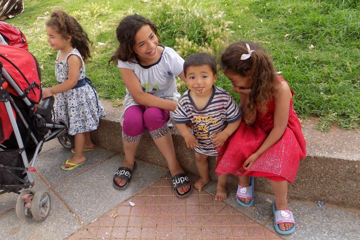 Children in Sefrou