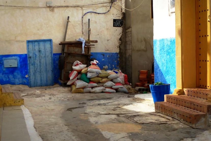 Piles of junk