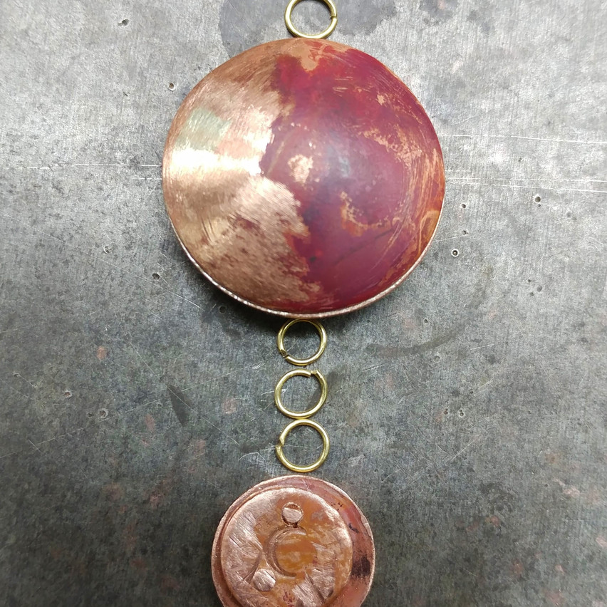 Unfinished pendant