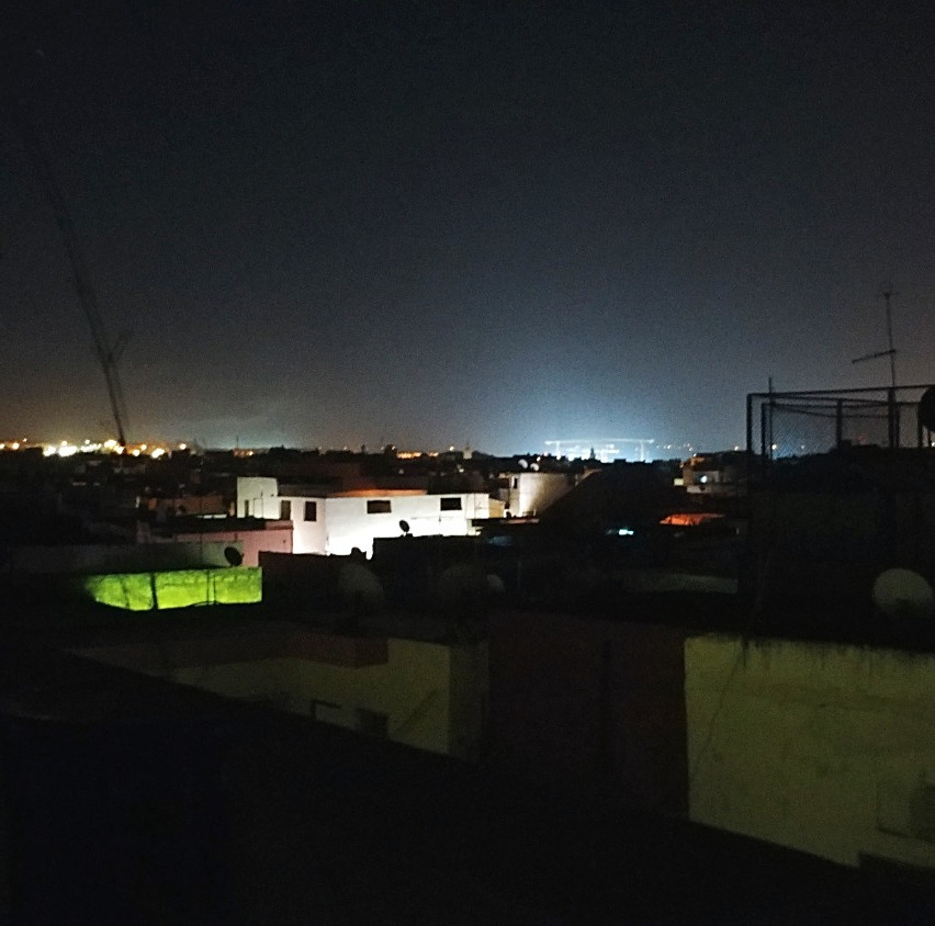 View from the roof (night)