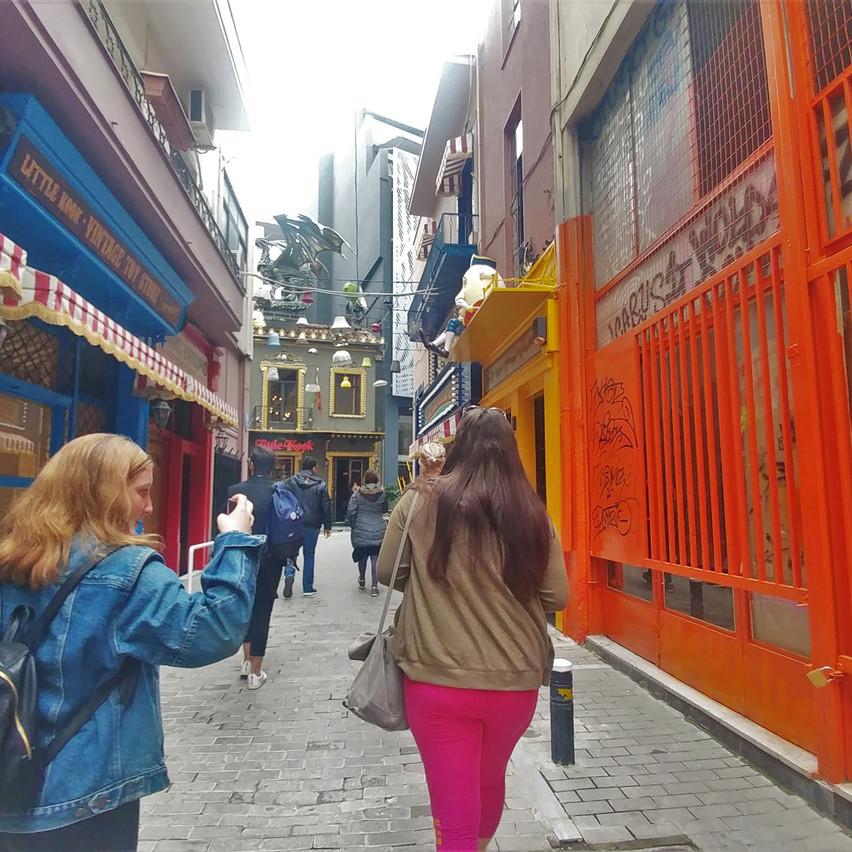 An alley in Monastiraiki