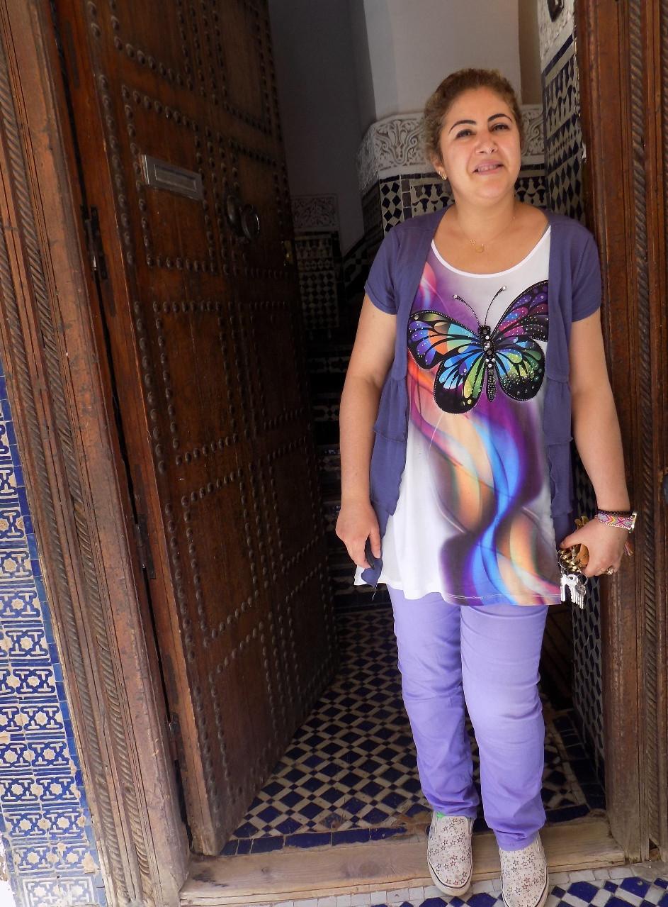 Hotelier of the Riad Ghita, Fes