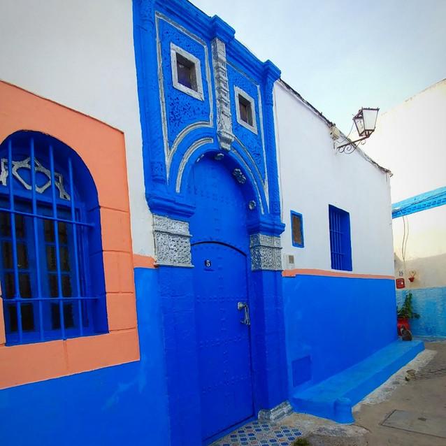 Blue Town at the Kasbah Udayas
