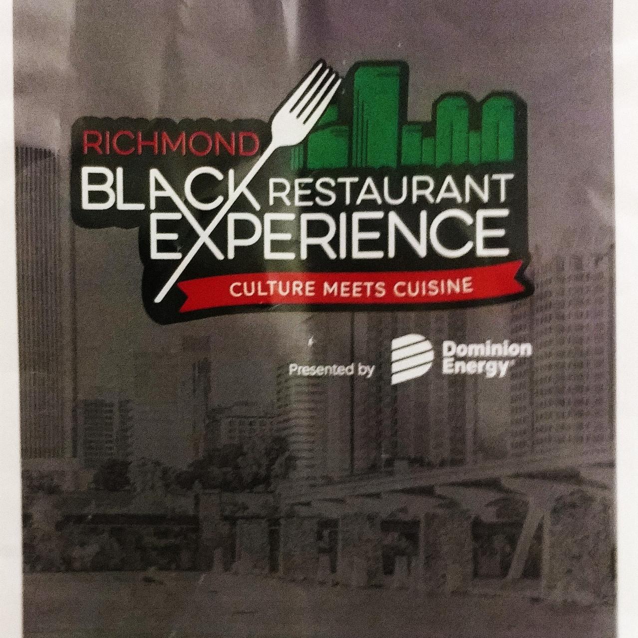 Richmond Black Restaurant Experience