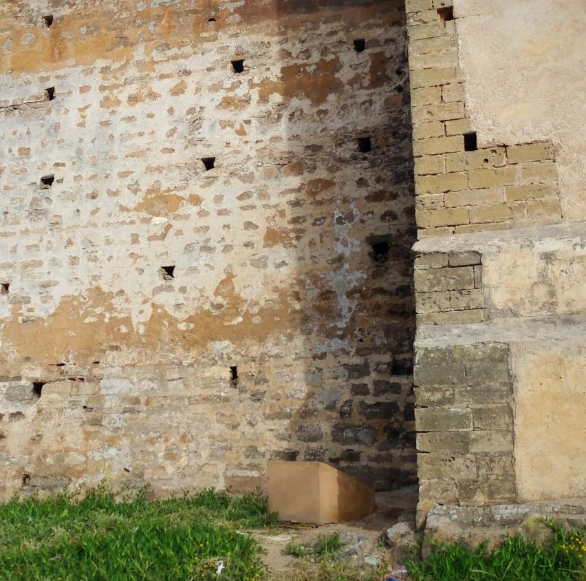 Wall at the Kasbah