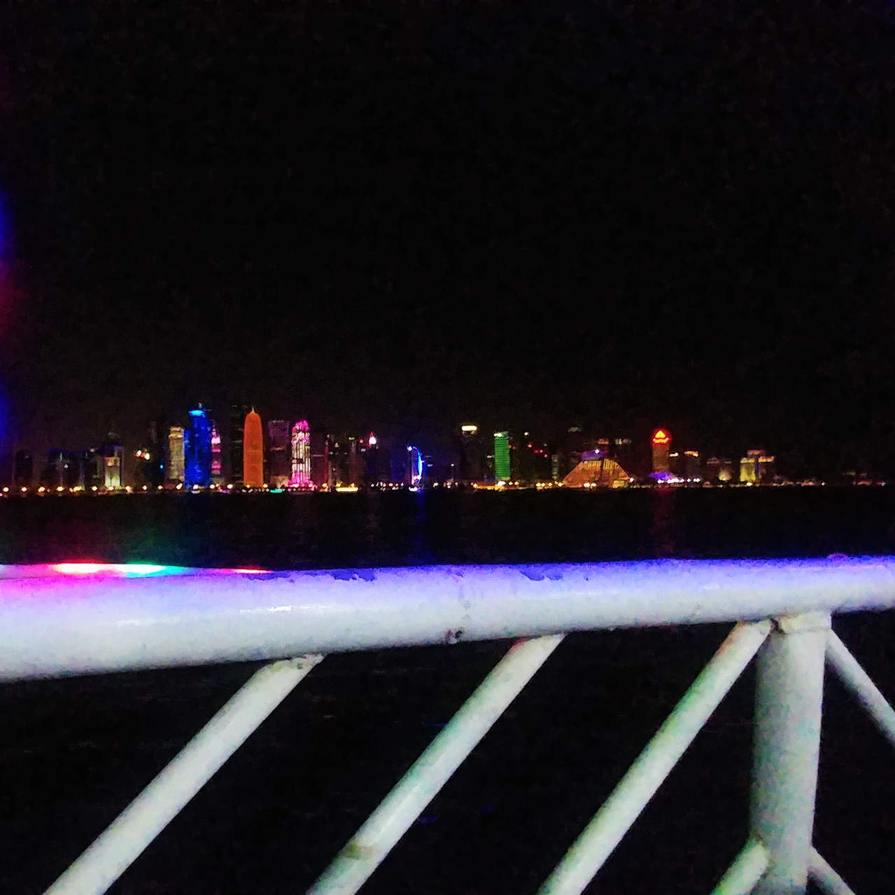 Doha skyline from a dhow boat
