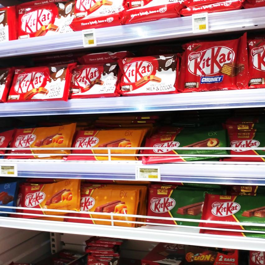 Lollipops, Kit Kats, & Herseys
