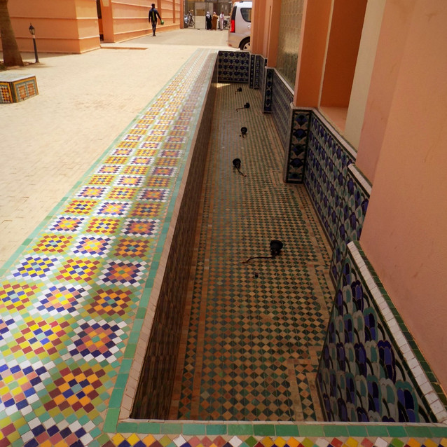 Moroccan Craft Fountain