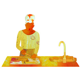 The Kitchen (panel III)