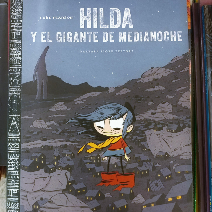 Hilda graphic novel