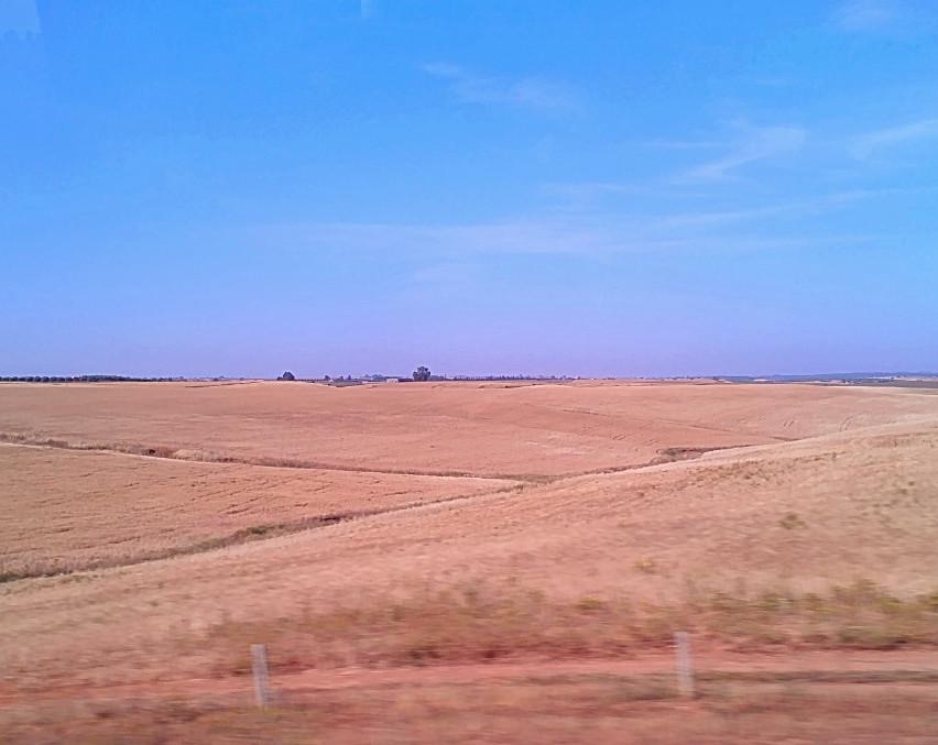 Expanse of land