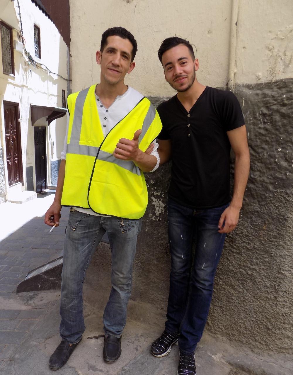 Two men in Fes