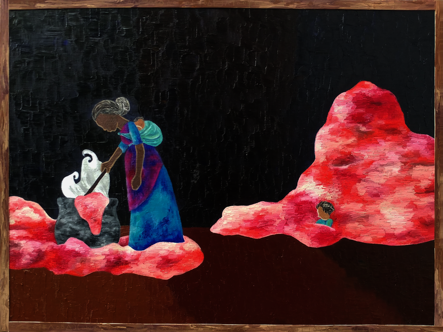 The Red Sails (Panel II)