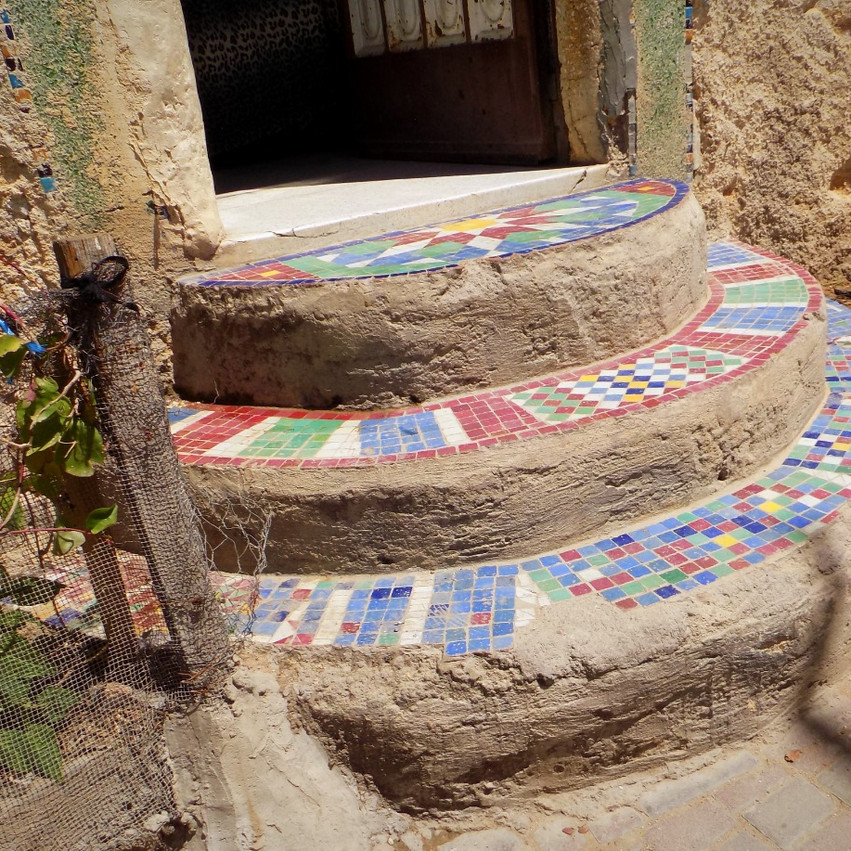 Stairs to the Workshop
